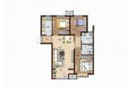 德州华中华园B6户型-3室2厅2卫-112㎡